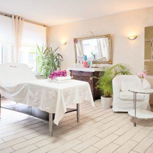Raum für Kosmetikbehandlung